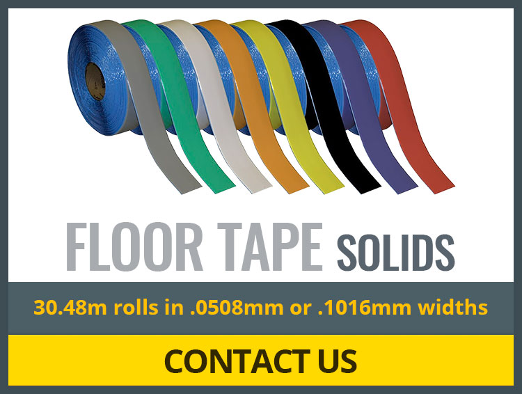 Superior Mark Floor Tapes - Solids